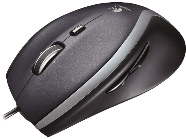 M500 LOGITECH CORDED MOUSE WITH CABLE 910-003726 3