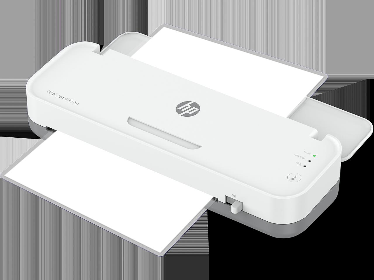 HP LAMINATOR ONELAM400 A4 3160 75-125µ white 1