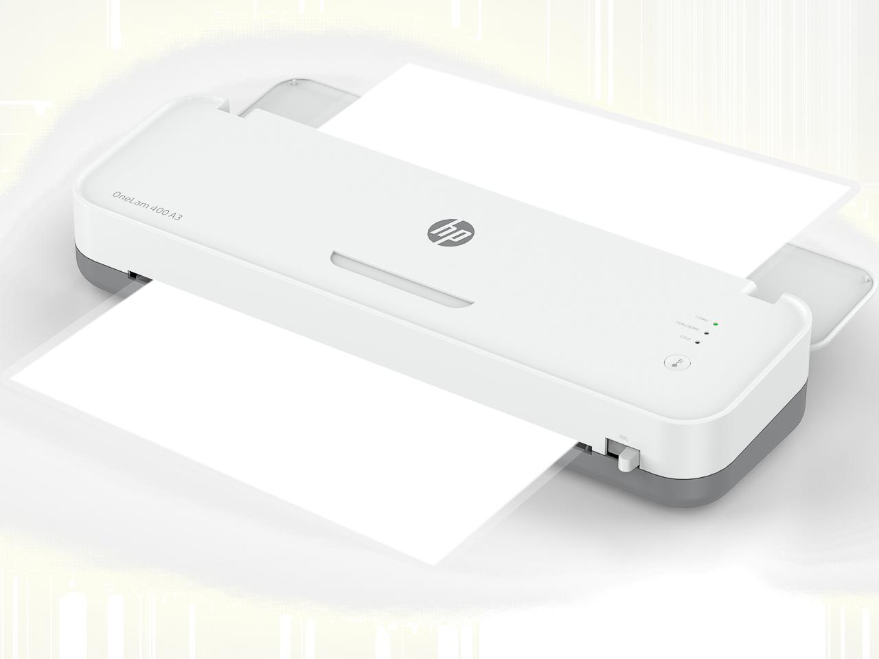 HP LAMINATOR ONELAM400 A3 3161 75-125µ white 1