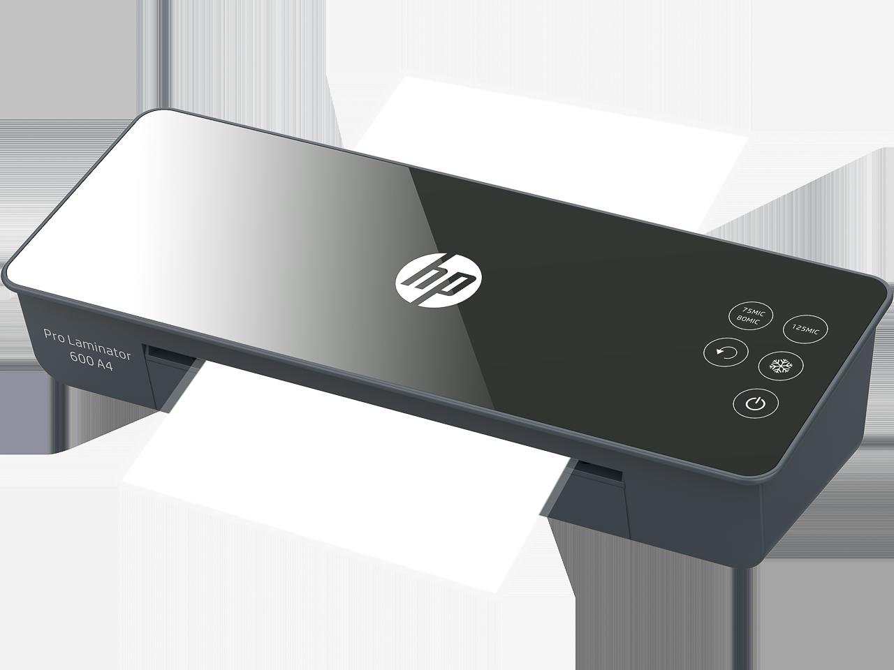 HP LAMINATOR PRO600 A4 3163 75-125µ black 1