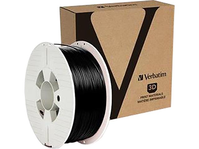 PLA 1,75mm BLACK 1kg VERBATIM 3D FILAMENT 1