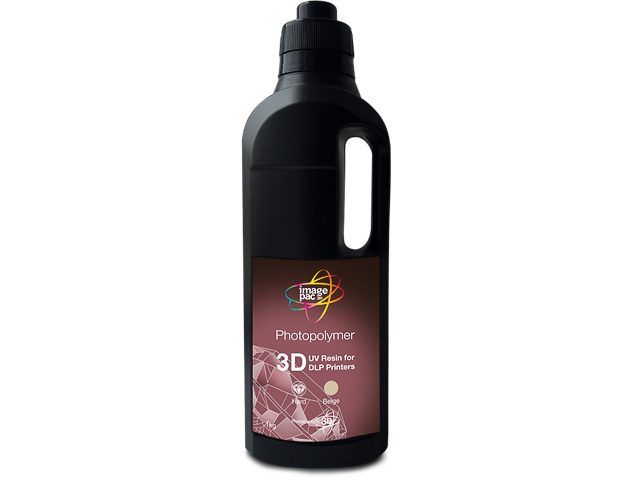 PHOTOCENTRIC DLP RESIN HARD BLACK BR3DBLK01-UV-HARD 1kg 1