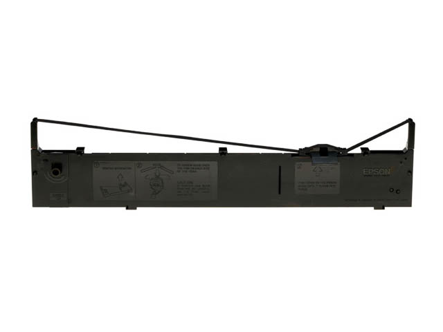 C13S015086 EPSON FX2170 RIBBON NYLON BLK 12mil signs black 1