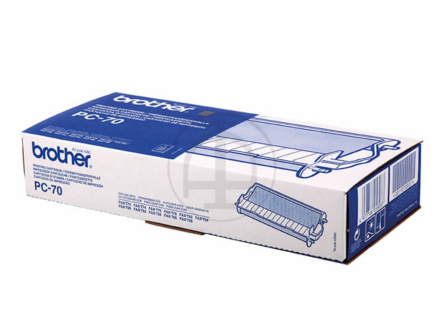 PC70 BROTHER FAX72 CARTRIDGE BLACK 144pages cartridge+refill (1+1) 1
