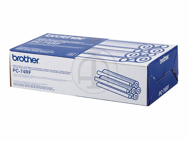 PC74RF BROTHER FAX72 REFILL (4) 4x144pages 1