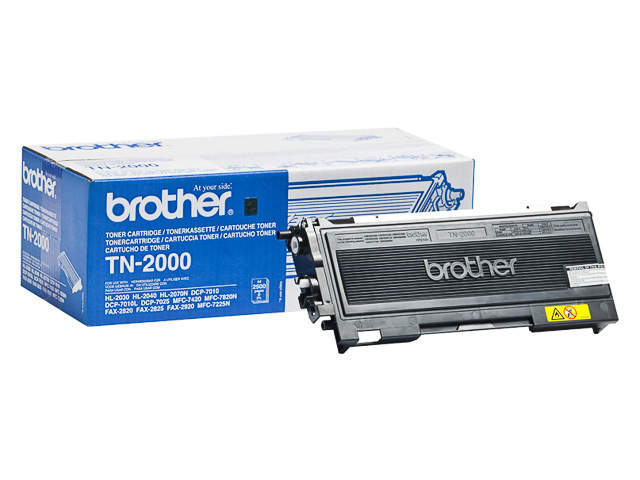 TN2000 BROTHER HL2030 TONER BLACK 2500Seiten 1