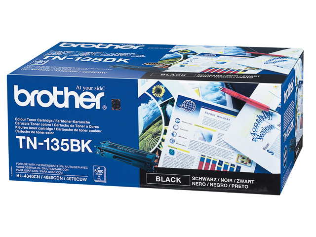 TN135BK BROTHER HL4040CN TONER BLACK HC 5000pages high capacity 1
