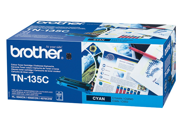 TN135C BROTHER HL4040CN TONER CYAN HC 4000pages high capacity 1