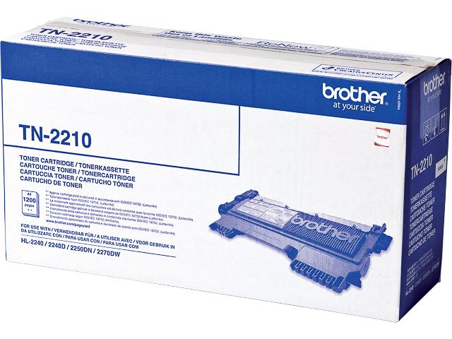 TN2210 BROTHER HL2240 TONER BLACK ST 1200Seiten Standard Kapazitaet 1
