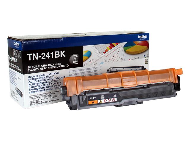 TN241BK BROTHER HL3140 TONER BLACK ST 2500pages standard capacity 1