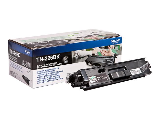 TN326BK BROTHER HLL8250CDN TONER BLK HC 4000Seiten hohe Kapazitaet 1
