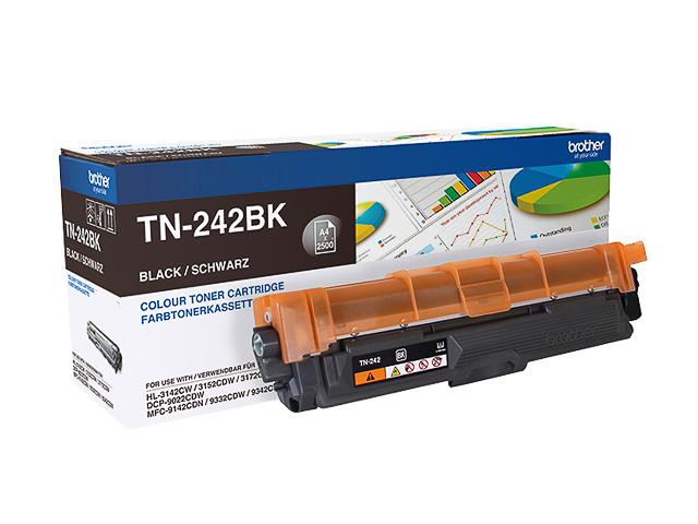 TN242BK BROTHER HL3142CW TONER BLACK 2500pages standard capacity 1
