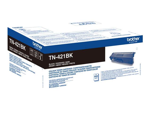 TN421BK BROTHER HLL8260CDW TONER BLK ST 3000Seiten Standard Kapazitaet 1