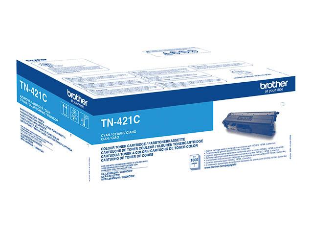 TN421C BROTHER HLL8260CDW TONER CYA ST 1800Seiten Standard Kapazitaet 1