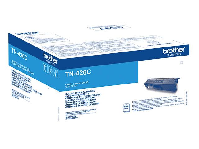 TN426C BROTHER HLL8360CDW TONER CYA EHC 6500Seiten extra hohe Kapazitaet 1