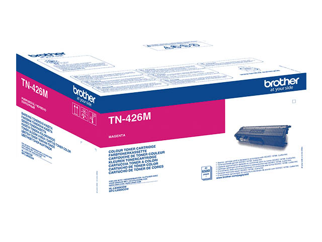 TN426M BROTHER HLL8360CDW TONER MAG EHC 6500Seiten extra hohe Kapazitaet 1