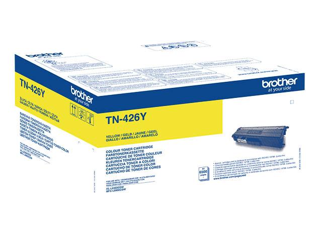TN426Y BROTHER HLL8360CDW TONER YEL EHC 6500Seiten extra hohe Kapazitaet 1