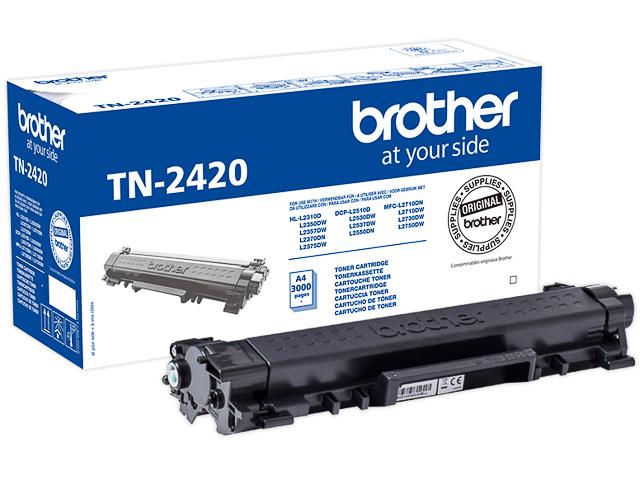 TN2420 BROTHER HLL2310D TONER BLACK HC 3000Seiten hohe Kapazitaet 1