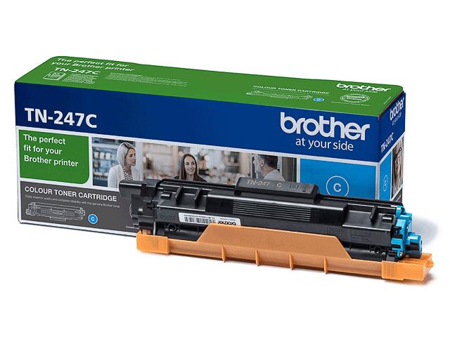 TN247C BROTHER DCPL3510CDW TONER CYA 2300Seiten hohe Kapazitaet 1