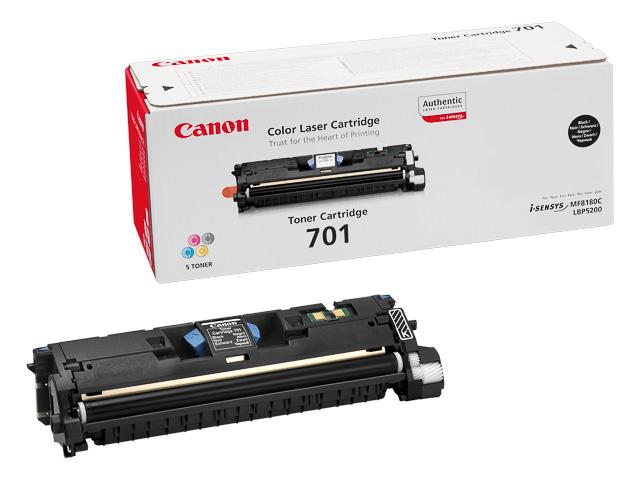 9287A003 CANON LBP5200 CARTRIDGE BLK ST 701BK 5000pages standard capacity 1
