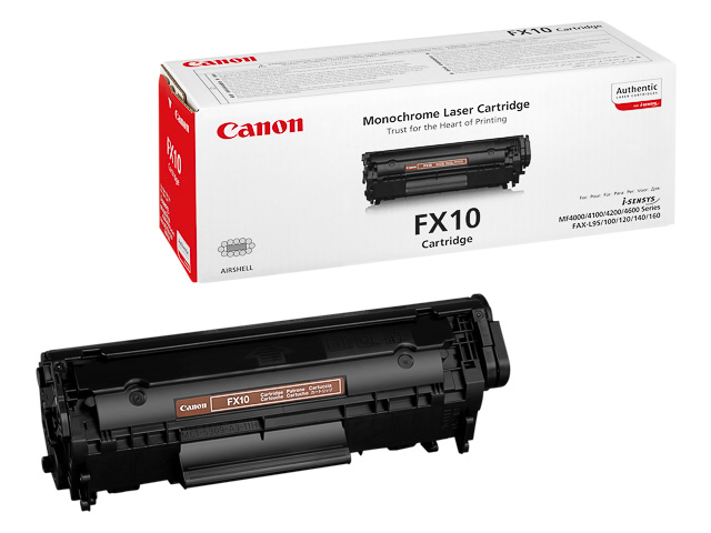 FX10 CANON FAX L100 CARTRIDGE BLACK 0263B002 2000Seiten 1