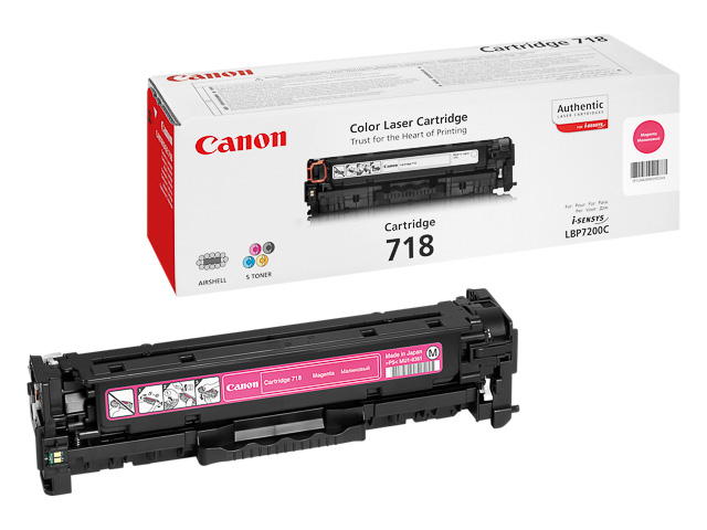 2660B002 CANON LBP7200 CARTRIDGE MAGENTA 718M 2900Seiten 1