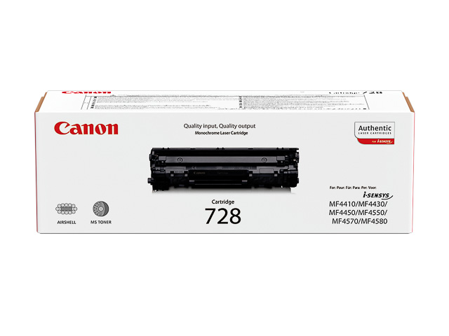 3500B002 CANON MF4410 CARTRIDGE BLACK 728BK 2100Seiten 1