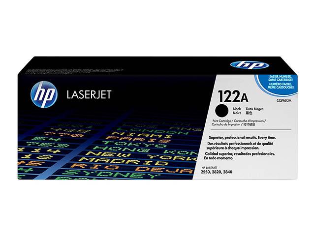 Q3960A HP CLJ2550 CARTRIDGE BLACK HP122A 5000pages 1