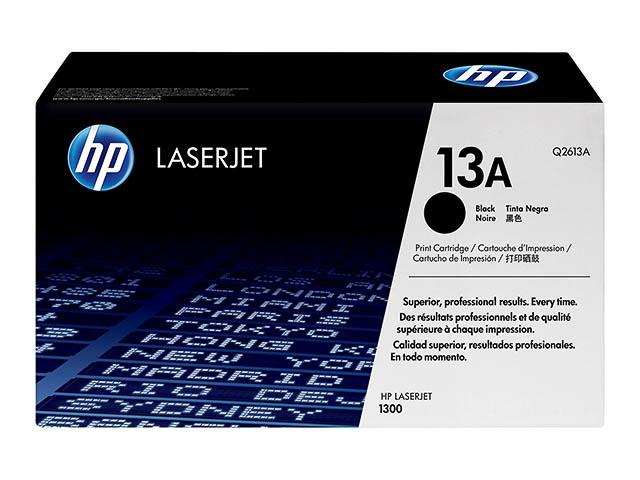 Q2613A HP LJ1300 CARTRIDGE BLACK ST HP13A 2500pages standard capacity 1