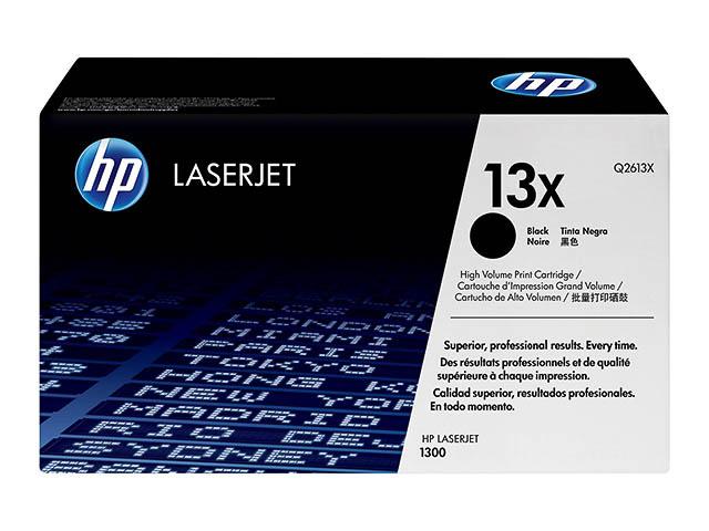 Q2613X HP LJ1300 CARTRIDGE BLACK HC HP13X 4000pages high capacity 1