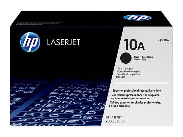 Q2610A HP LJ2300 CARTRIDGE BLACK HP10A 6000pages 1