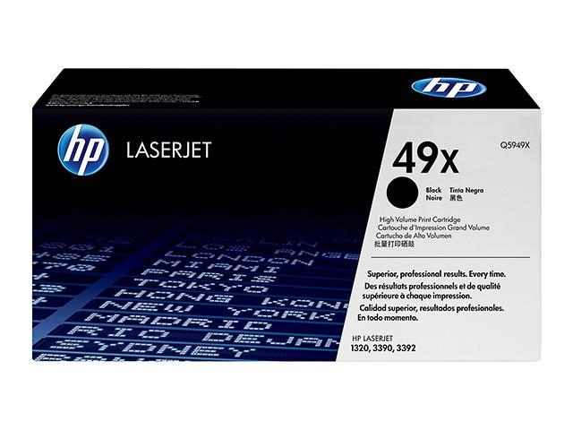 Q5949X HP LJ1320 CARTRIDGE BLACK HC HP49X 6000pages high capacity 1