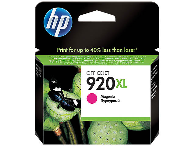 CD973AE HP OJ6500 INK MAGENTA HC HP920XL 6ml 700pages high capacity 1