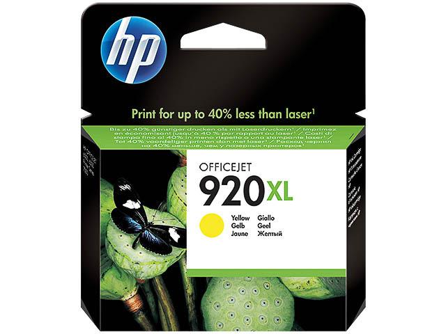 CD974AE HP OJ6500 INK YELLOW HC HP920XL 6ml 700pages high capacity 1
