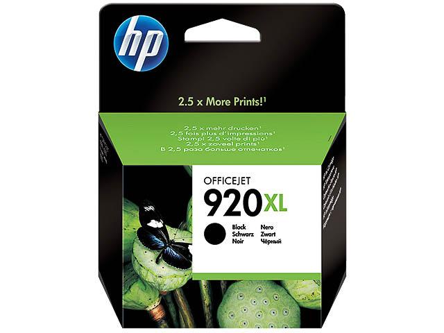 CD975AE HP OJ6500 INK BLACK HC HP920XL 49ml l1200pages high capacity 1