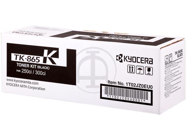 TK865K KYOCERA TASKALFA250CI TONER BLACK 1T02JZ0EU0 20.000pages 1
