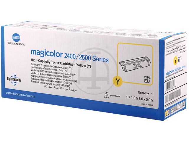 A00W132 KONICA MC2400 TONER YELLOW HC 4500Seiten hohe Kapazitaet 1