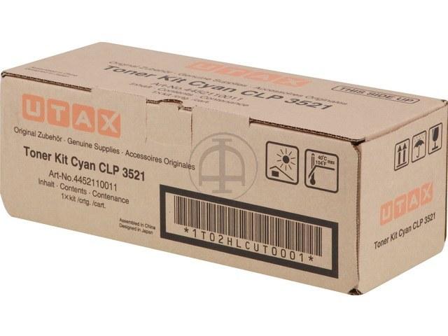 4452110011 UTAX CLP3521 TONER CYAN 4000Seiten 1