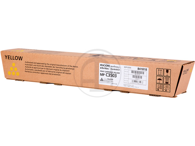 841818 RICOH MPC3003 TONER YELLOW Type MPC3503 18.000Seiten 1