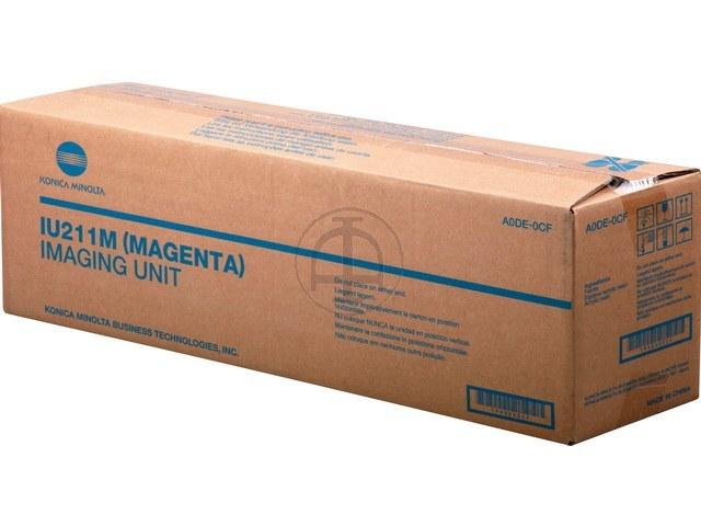 A0DE0CF KONICA BIZHUB C203 OPC MAGENTA 55.000pages IU211M imaging unit 1