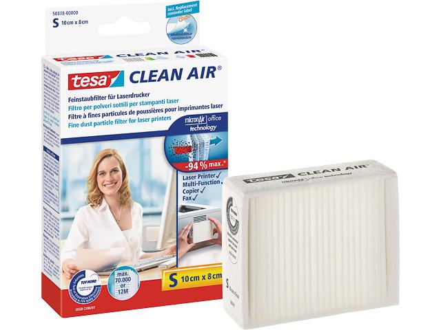 TESA CLEAN AIR FEINSTAUBFILTER GR S 5037800 fuer Laserdrucker 10x8cm 1