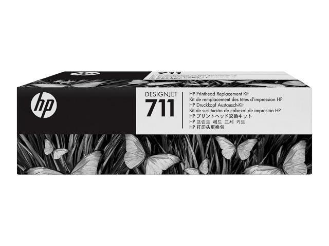 C1Q10A HP DNJ T520 PRINTHEAD No.711 1