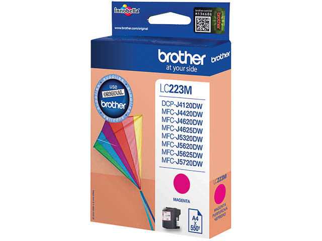 LC223M BROTHER MFCJ4420DW INK MAG ST 550pages standard capacity 1