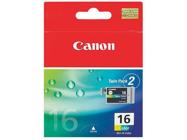 BCI16C CANON DS700 INK (2) COLOR 9818A002 No.16 2x50pages 1