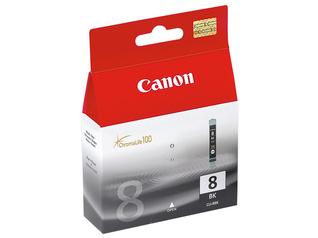 CLI8BK CANON MP800 INK BLACK 0620B001 No.8 13ml 400pages 1