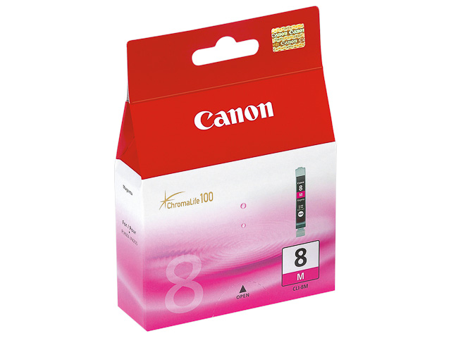 CLI8M CANON MP800 INK MAGENTA 0622B001 No.8 13ml 400pages 1
