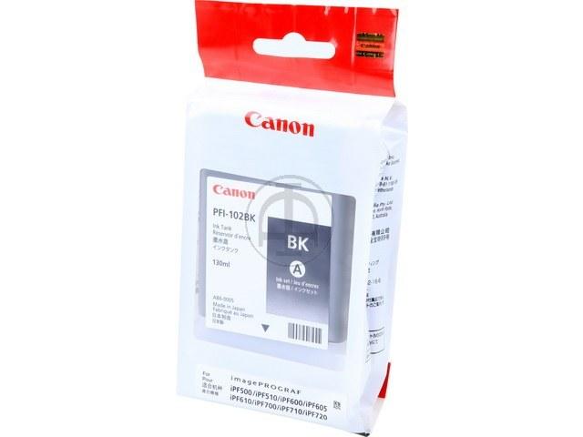 PFI102BK CANON IPF500 INK BLACK 0895B001 130ml 1