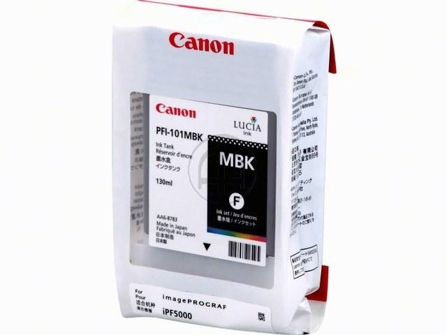 PFI101MBK CANON IPF5000 INK MATT BLACK 0882B001 130ml 1
