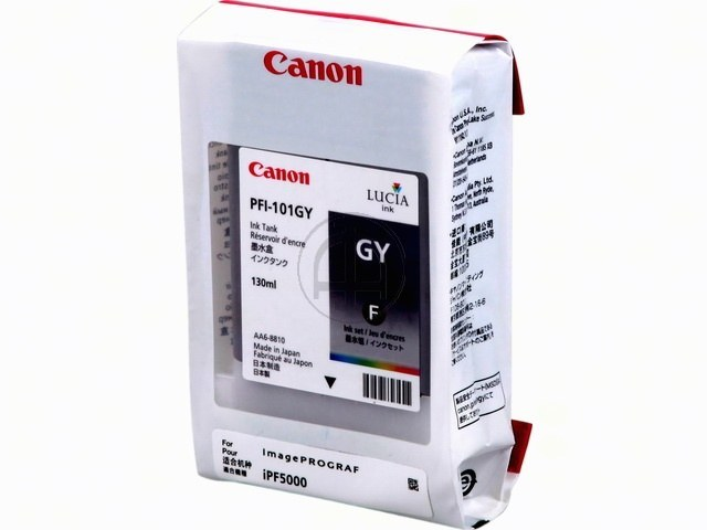 PFI101GY CANON IPF5000 INK GREY 0892B001 130ml 1