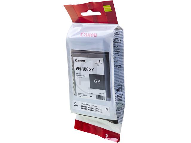 PFI106GY CANON IPF6300 INK GREY 6630B001 130ml 1